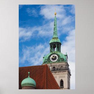 Poster Tour d'église de Peterskirche