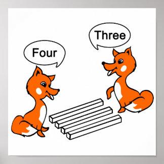 Poster Tour d'illusion optique de Fox