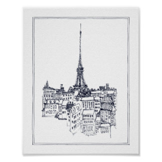 Poster Tour Eiffel