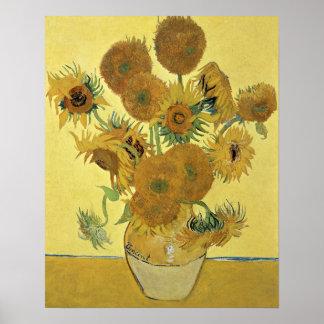 Poster Tournesols de Vincent van Gogh |, 1888
