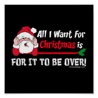Poster Tous que je veux pour l'humour de Noël