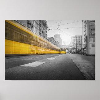 Poster Tram à Berlin