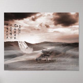 Poster Tranquilité spirituelle