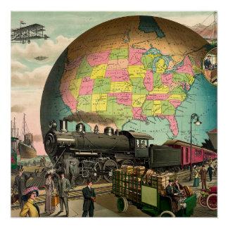 Poster Transport de PIÈCE EN T