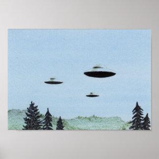 Poster Trio d'UFO