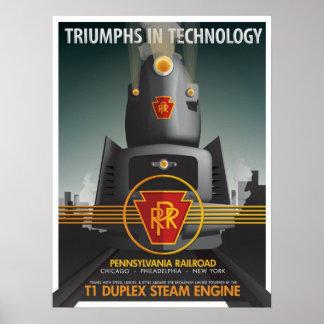 Poster TRIOMPHES EN TECHNOLOGIE : Le T1 de Pennsy