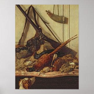 Poster Trophées de chasse de Claude Monet |, 1862