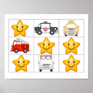 Poster Trouvez une affiche de récompense d'étoile (les