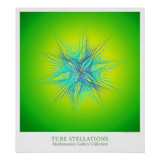 Poster Tube Stellations