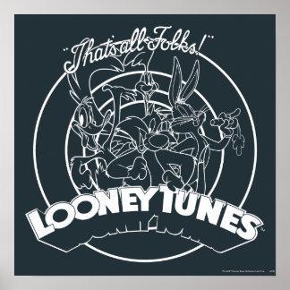 POSTER TUNES™ LOONEY QUI EST TOUS LES GENS ! ™