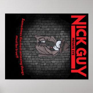 Poster Type de Nick, détective privé