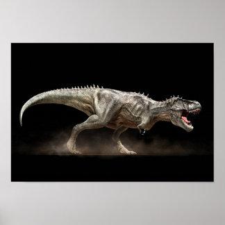 Poster tyrannosaure T-rex