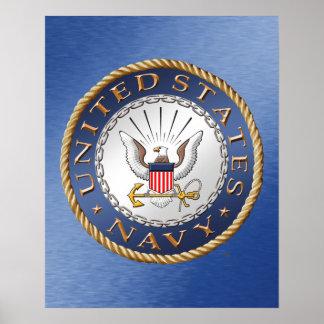 Poster U.S. Affiche de marine