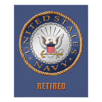 Poster U.S. Affiche retirée par marine