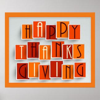 Poster Un bon thanksgiving