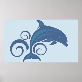 Poster Un dauphin