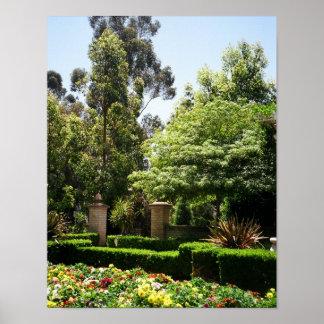 Poster Un jardin secret