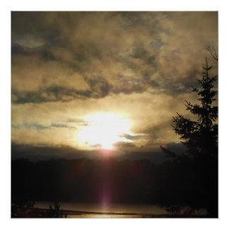 Poster Un nouveau lever de soleil de jour