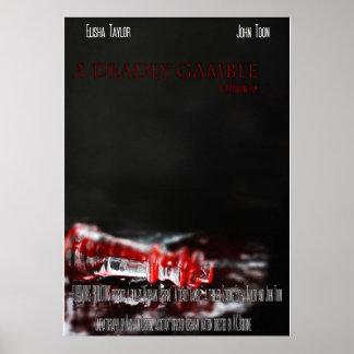 Poster Une affiche mortelle de jeu