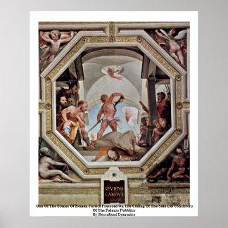 Poster Une des scènes de la justice romaine