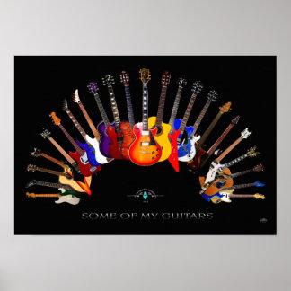 Poster Une partie de mon ~ SolidSpaceStudio de guitares