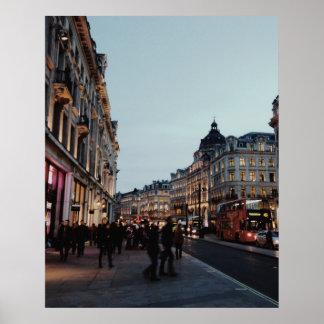 Poster Une soirée de Londres