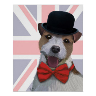 Poster Union Jack Jack Russell