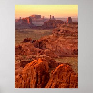 Poster Vallée de monument pittoresque, Arizona