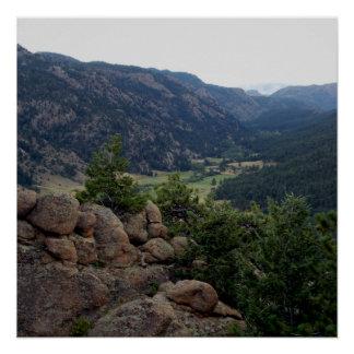 Poster Vallée du Colorado
