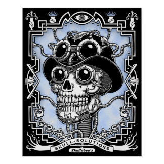 Poster Vapeur Skullabee