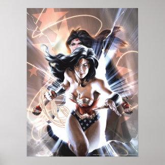 Poster Variante comique de la couverture #609 de femme de