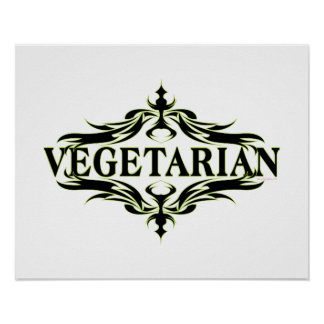 Poster Végétarien