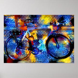 Poster Vélo de Fractalized