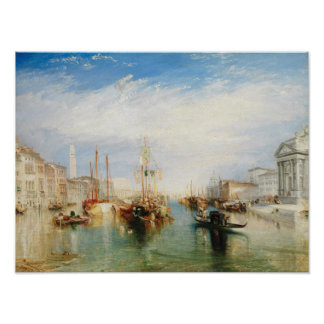 Poster Venise, du porche du salut de della de Madonna