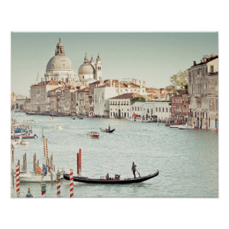 Poster Venise, Italie | le canal grand