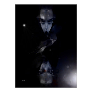 "Poster vertical moyen modèle, ""The Alien Lady"" Posters"