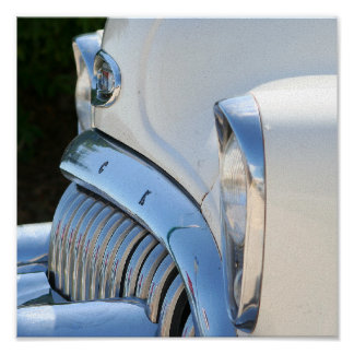 Poster Vieille copie blanche de Buick