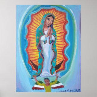 Poster Vierge de Guadalupe 3 par Diego Manuel