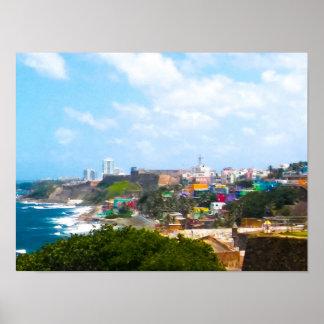 Poster Vieux San Juan