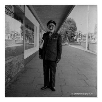 Poster Vieux soldat. Blackburn - 1983. Affiche de photo