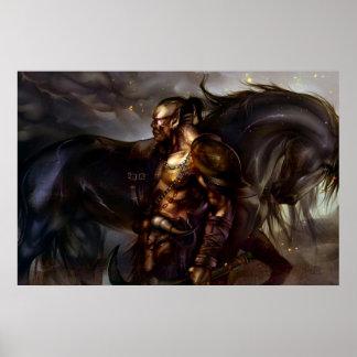 Poster Viking et affiche de cheval