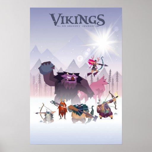 poster Vikings archer