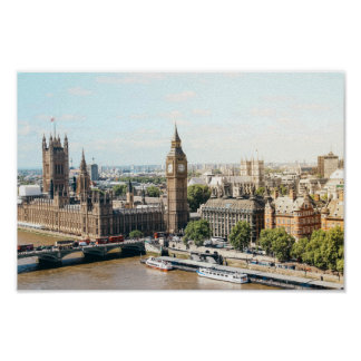 Poster Ville de Londres