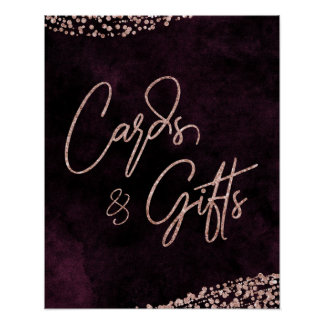 Poster Vin de Bourgogne et cartes et cadeaux de mariage
