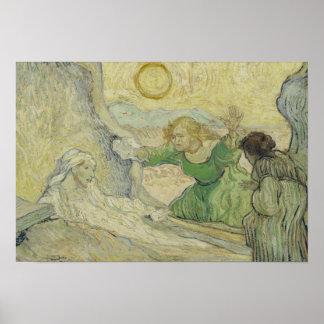 Poster Vincent van Gogh - augmenter de Lazarre