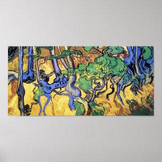 Poster Vincent van Gogh - beaux-arts de racines et de