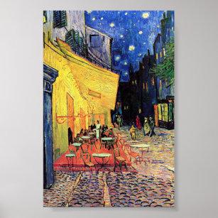 "Poster Vincent van Gogh - ""Café Terrace at Night"" Imprim"