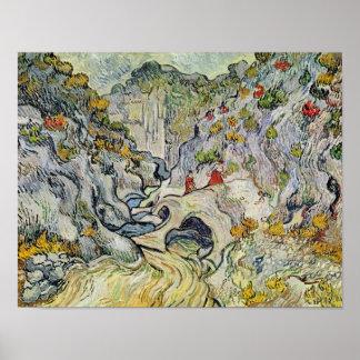 Poster Vincent van Gogh | le ravin du Peyroulets