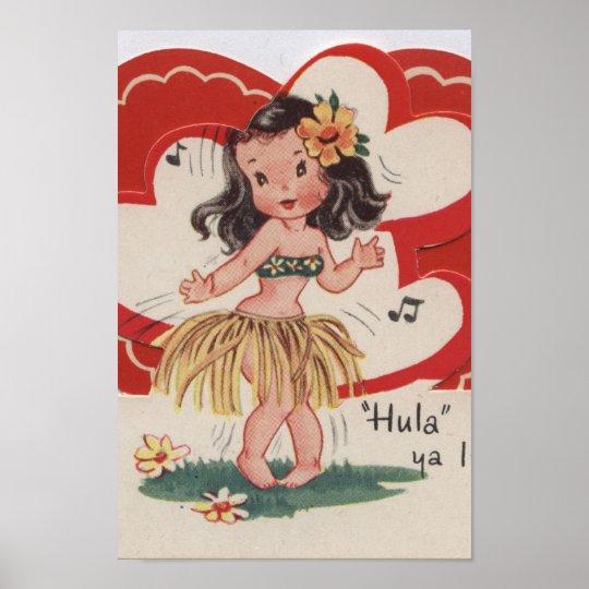 Poster Vintage valentine -