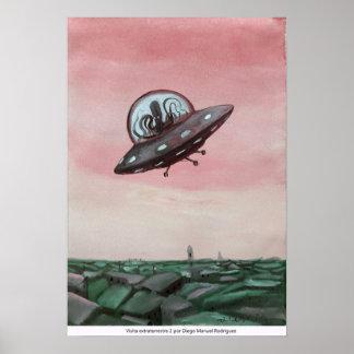 Poster Visite extraterrestre 2